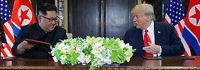 Vereinbarung mit Trump: Kim verpflichtet sich zu Denuklearisierung