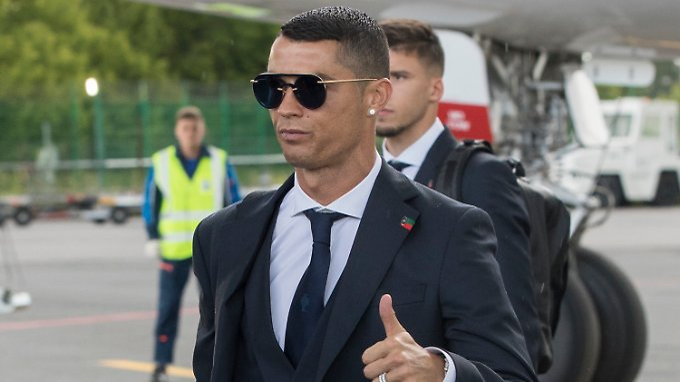 Ist sowas von bereit für die WM: Cristiano Ronaldo.
