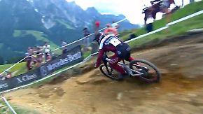 Rasante Abfahrten in Leogang: Wer im Downhill-Weltcup bremst, verliert