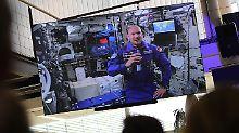 """""""Als wäre ich nicht weg gewesen"""": Gerst fühlt sich """"fantastisch"""" auf ISS"""
