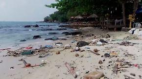 Inselparadies in Gefahr: Koh Rong erstickt im Plastikmüll