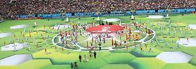 WM in Russland eröffnet: Putin beschwört die Liebe zum Fußball
