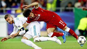 Beide werden heute spielen: Sergio Ramos und Mohamed Salah - allerdings nicht gegeneinander.