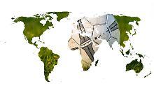 Die Welt in Karten: Das sind die talentiertesten Fußballnationen