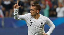 Antoine Griezmann könnte dafür sorgen, dass Frankreich erneut ein Auftaktspiel gewinnt.