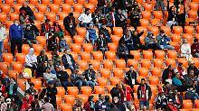 Der Sport-Tag: Fifa wundert sich über leere Plätze in Jekaterinburg