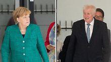 RTL/n-tv Umfrage zu Flüchtlingen: Mehrheit im Koalitionskrach hinter Merkel
