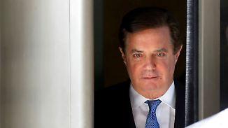 Steuerhinterziehung und Geldwäsche: Trumps Ex-Wahlkampfchef Manafort muss ins Gefängnis