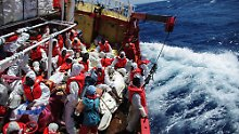 Innenminister Salvini gegen NGOs: Italien will weitere Rettungsschiffe abweisen