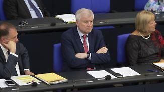 """Merkel hält an Europakurs fest: Seehofer: """"Kein Interesse, Kanzlerin zu stürzen"""""""