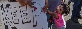 Mehr Herz an der Grenze: Melania Trump kritisiert Familientrennungen