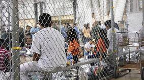 """""""Brutale, grausame Behörden"""": Zerrissene Migrantenfamilien entsetzen USA"""