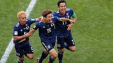 Kolumbien 92 Minuten zu zehnt: Turbo-Rot ebnet Japan den Weg zum Sieg