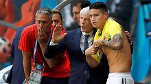 Der Sport-Tag: Kolumbien rotiert Bayern-Star James ins Team