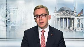 """CDU-Politiker Amthor zum Asylstreit: """"Eine europäische Lösung ist im Sinne der ganzen Fraktion"""""""