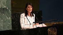 """Voreingenommene """"Jauchegrube"""": USA treten aus UN-Menschenrechtsrat aus"""