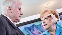 """""""Die CSU will keinen Bruch"""": Asylstreit der Union schwelt weiter"""