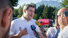 Treffen mit Kurz in Linz: Söder will Österreichs Asylpolitik nacheifern