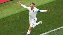 Portugals Rekordjäger liefert: Ronaldo besiegelt Marokkos Vorrunden-Aus