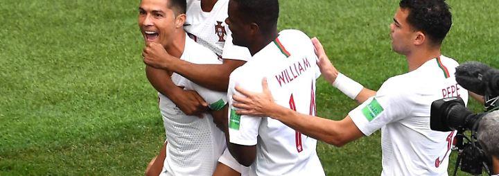 WM-Tag 7 in Bildern: Ronaldo liefert und Spanien legt nach
