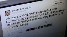 Morgens kühl, abends impulsiv: Trump schwimmt gegen den Twitter-Strom