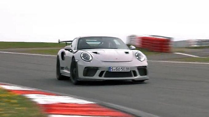 Süddeutscher Dampfhammer: So fährt sich der Porsche 911 GT3 RS