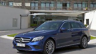 Update unter der Haube: Mercedes präsentiert überarbeitete C-Klasse