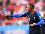 Der Sport-Tag: Mbappé ist jüngster WM-Torschütze Frankreichs