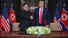 US-Insider widersprechen Trump: Denuklearisiert Kim doch noch nicht?