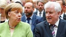 """CDU-Politiker zum Asylstreit: """"Ohne Absprache - das geht nicht"""""""