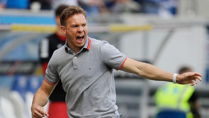 Jung und hungrig nach Erfolg: Der künftige Leipzig-Coach Julian Nagelsmann.