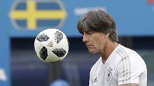 Gegen Schweden? Muss der Ball ins Tor!