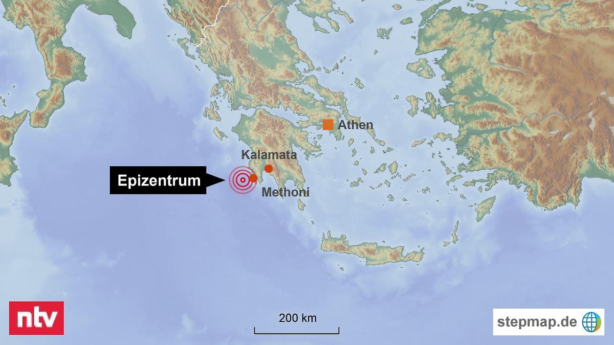 Der Tag: Seebeben erschüttert Peloponnes - n-tv.de Tropical Grland Map on