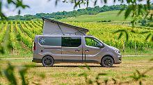 Mit dem Karmann Danny (hier die größere Ausführung 530) kommt ein weiterer Mitspieler in das Boom-Segment der Camper-Vans.