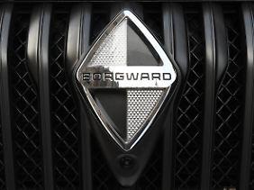 Alter Name, neue Technik: Das Borgward-Logo.