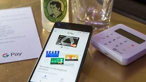 Bezahlen mit dem Smartphone: Google Pay startet in Deutschland