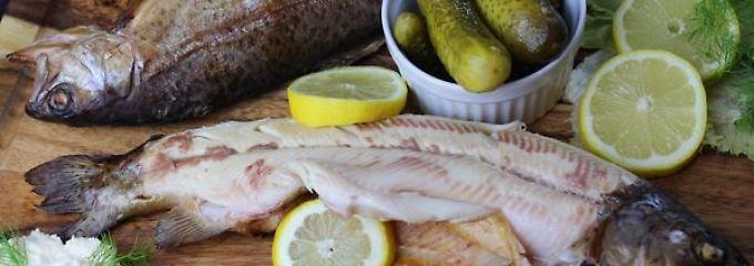 Nicht immer nur Fleisch - auch Fisch ist ganz fein auf dem Grill.