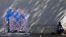 Flüchtlingsmädchen übersprüht: Banksy und die Ratten von Paris