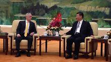 Mattis ist der erste US-Verteidigungsminister, der in der Amtszeit von Präsident Donald Trump nach China reiste.