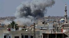 Wie die Syrische Beobachtungsstelle für Menschenrechte vermeldete, seien acht Zivilisten nach den Luftangriffen auf Daraa getötet worden.