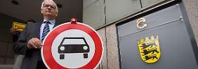 Diesel-Sperrzonen im Stadtgebiet: Umwelthilfe zieht gegen Stuttgart vor Gericht