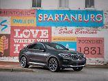 Gestrafft und verfeinert präsentiert sich der der neue BMW X4.
