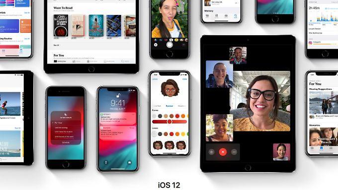 Bei iOS 12 konzentriert sich Apple auf Leistungsverbesserungen und Stabilität.