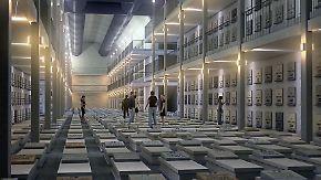 Fahrstühle zu den Toten: Israel baut riesigen Friedhof unter der Erde