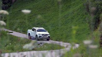 Erster Pickup aus Premium-Produktion: Mercedes' X-Klasse rollt auf deutsches Gelände
