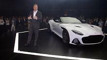 """""""Überwältigend"""" findet Andy Palmer die Leistungsdaten des neuen DBS Superleggera. Wen wunderts, ist der Mann doch Chef der Luxus-Manufaktur."""