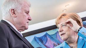 Merkel liefert, Seehofer prüft: Schicksalstag für die Union