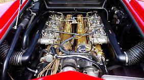 Der V12 im Lamborghini Countach.
