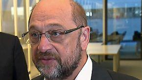 """Schulz greift die Union scharf an: """"Testosterongetriebene Politik und egomanische Trips"""""""