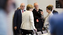 Kritik nach Asylstreit: CDU-Generalsekretärin fordert Aufarbeitung